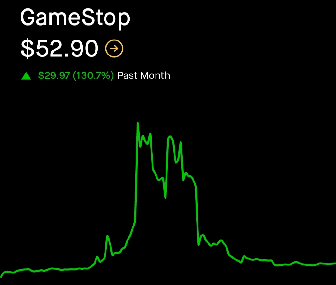 Fear and Bagholding on Robinhood: The Wave ofGameStop